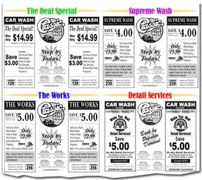 image about Mr Wash Coupons Printable titled Clic car or truck clean coupon codes campbell ca : Coupon codes ritz crackers